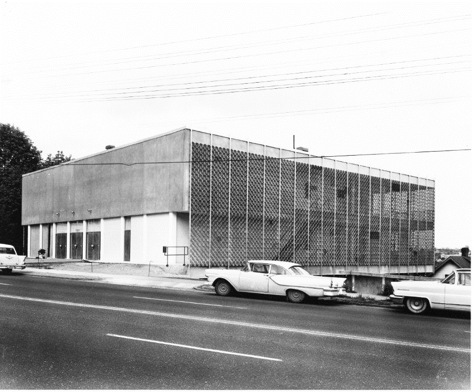 1961 photo of Swedish Club building